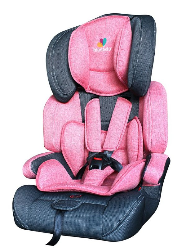 Cadeira Para Carro Allegra Vermelho Claro