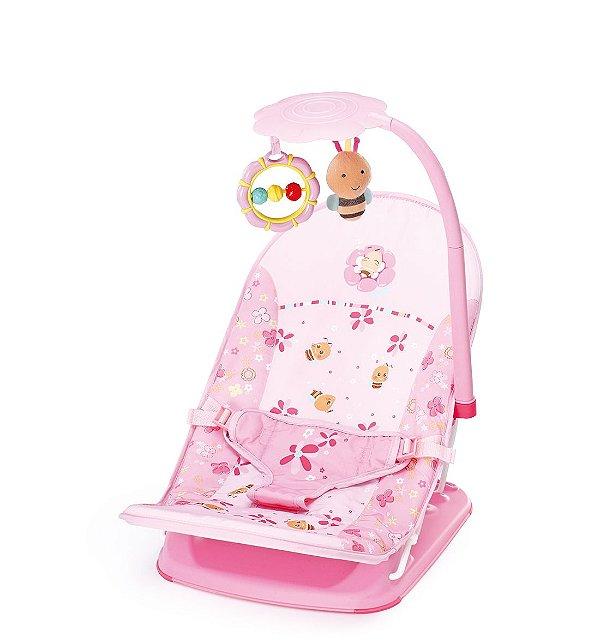 Cadeira Dobrável P/ Viagem Rosa