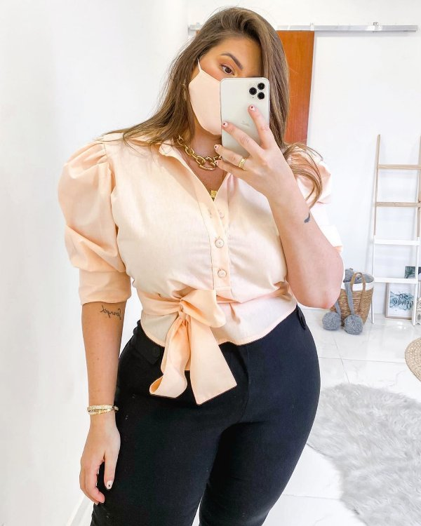 * CLL CAMISA CROPPED LOUISE