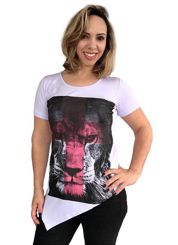 Leão de Judá cruz vermelha (BT) LONG - XG