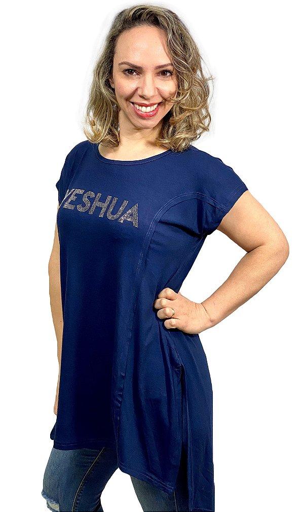 YESHUA - VEST LONGA COM RECORTES