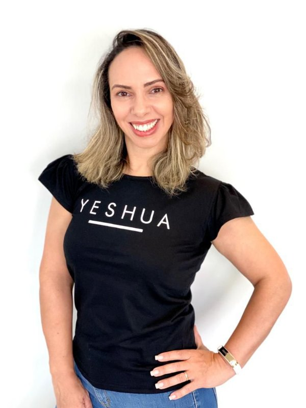 YESHUA (BT) PRETA - MANGA PRINCESA