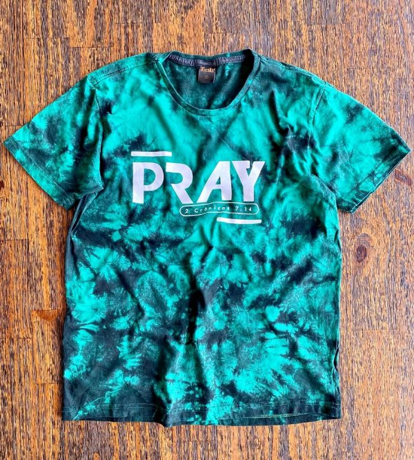 PRAY (C) TIE DYE