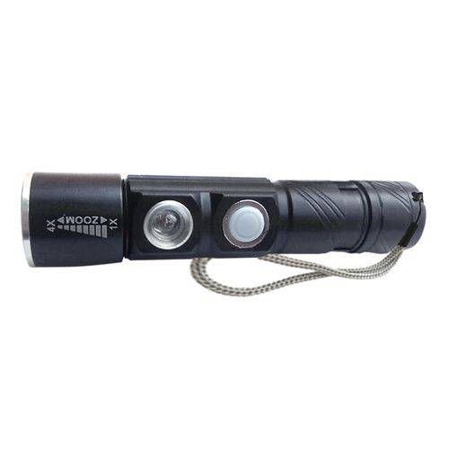 Lanterna Tática Recarregável Clip USB Guepardo