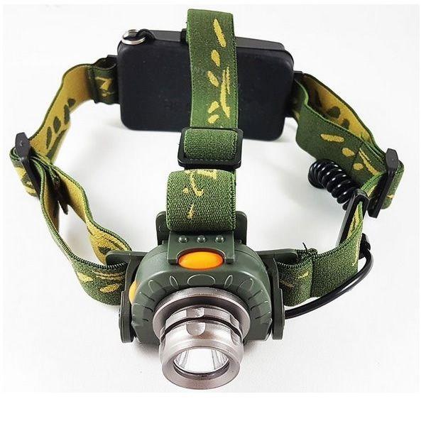 Lanterna de Cabeça Tática com Sensor de Movimento