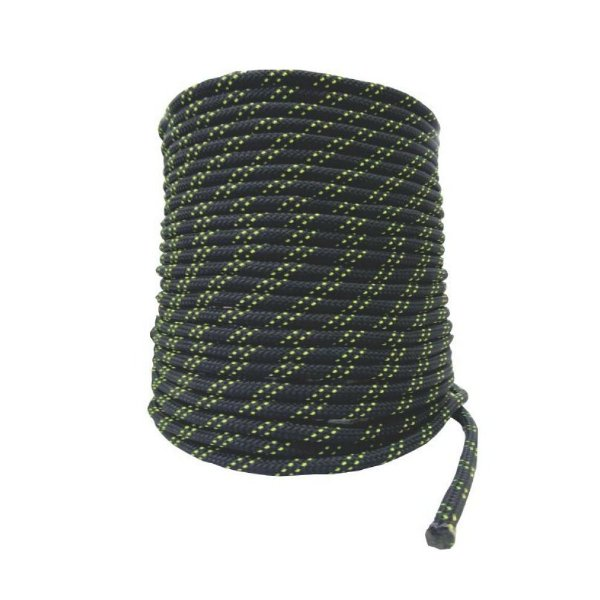 Corda Semi Estática 11,5 mm Preta - 100 m  K2