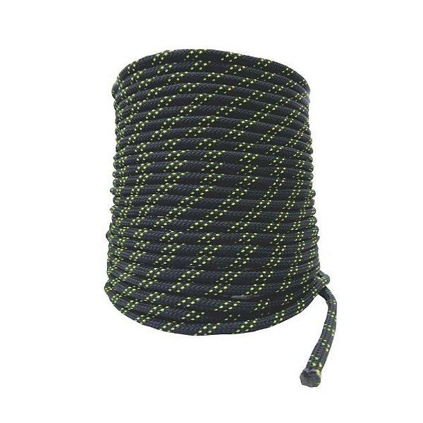 Corda Semi Estática 11,5 mm Preta - 50 m  K2