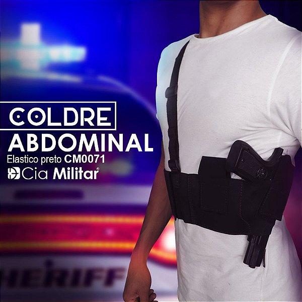 Coldre Abdominal Elástico P CM0071 Cia Militar