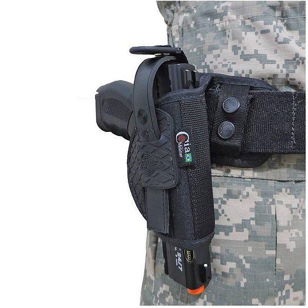 Coldre Mini Pistola Destro CM0013 Cia Militar