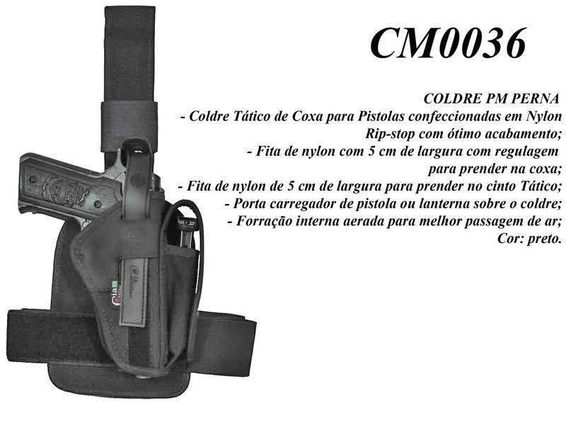 Coldre PM Perna CM0036 Destro Cia Militar