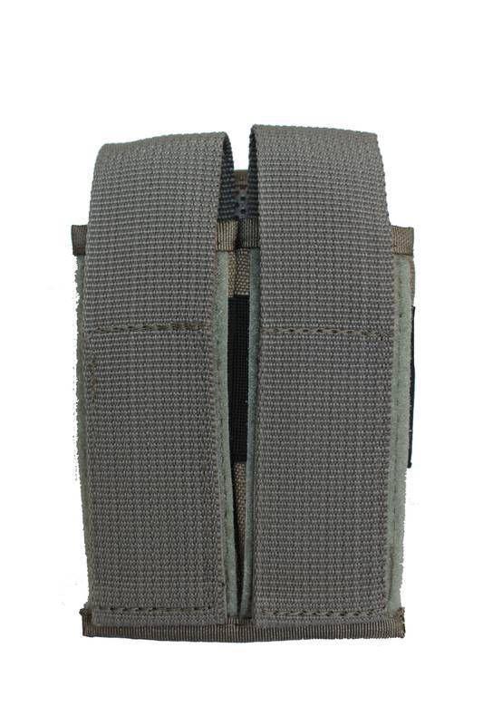 Porta Carregador Duplo Modular Cinza CM2006 Cia Militar