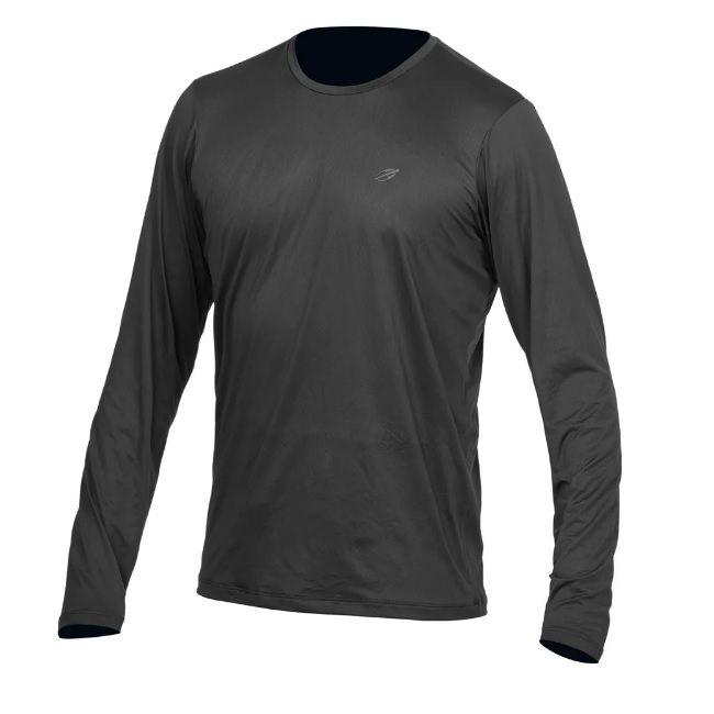 Camiseta Dry Action UV 2A Cinza Manga Longa Masculina Mormaii