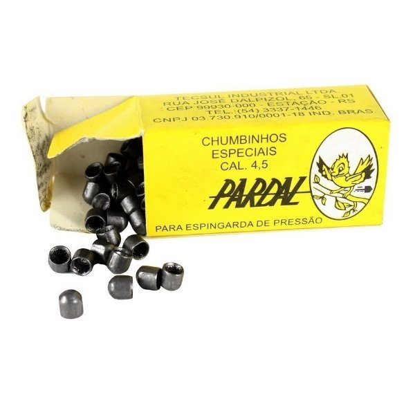 Chumbinho Pardal 4,5 mm Tecsul