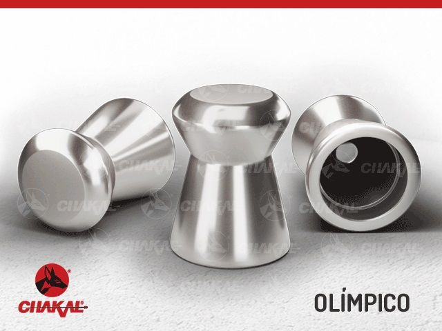 Chumbinho Olímpico Premium 5,5 mm Chakal