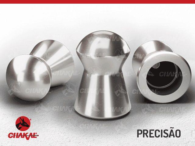 Chumbinho Precisão Premium 5,5 mm Chakal