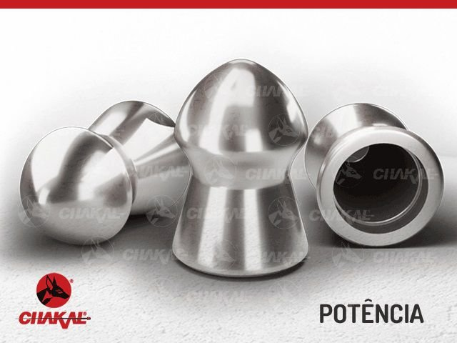 Chumbinho Potência Premium 5,5 mm Chakal