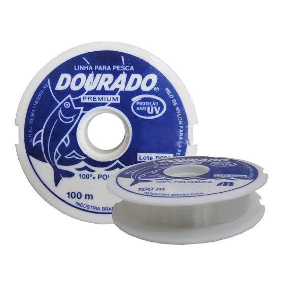 Linha Dourado Premium UV 0,40 mm 100 m Mazzaferro