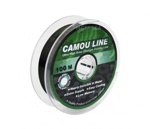 Linha Camou Line 0,25 mm 100 m Fishbull