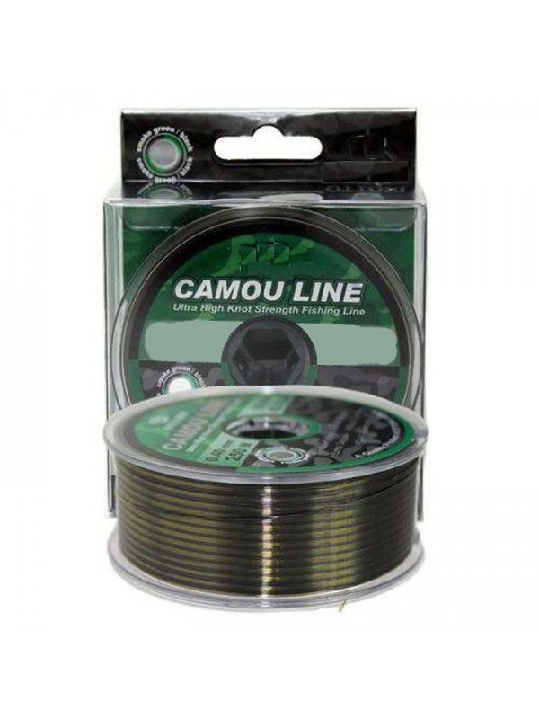 Linha Camou Line 0,37 mm 300 m Fishbull