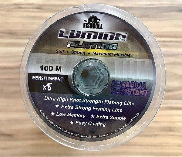Linha Lumina Platina 0,60 mm 100 m Fishbull