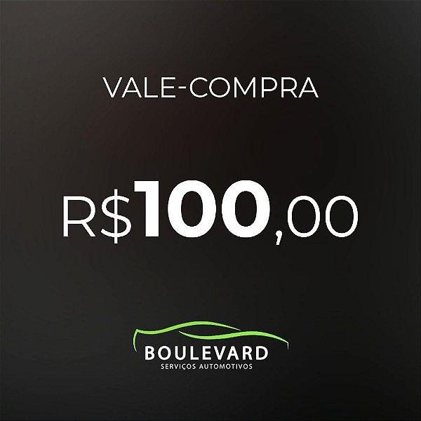Vale-compras R$ 100,00