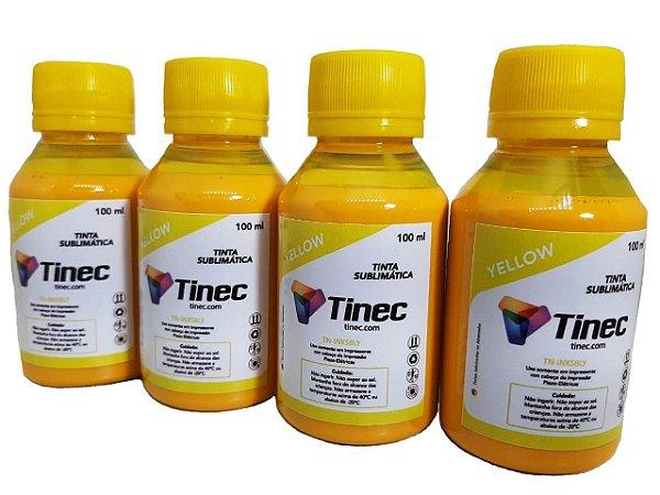 TINTA SUBLIMÁTICA AMARELA TINEC- 400ml