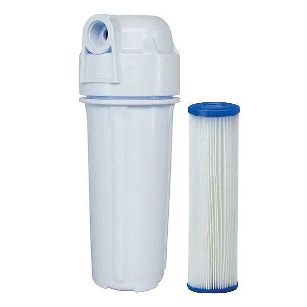 Filtro Água Para Caixa Dágua Cavalete Refil Lavavel Plissado