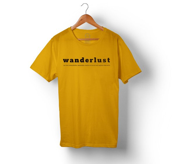 Travel Shirt - Mostarda