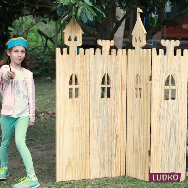 Biombo Castelo