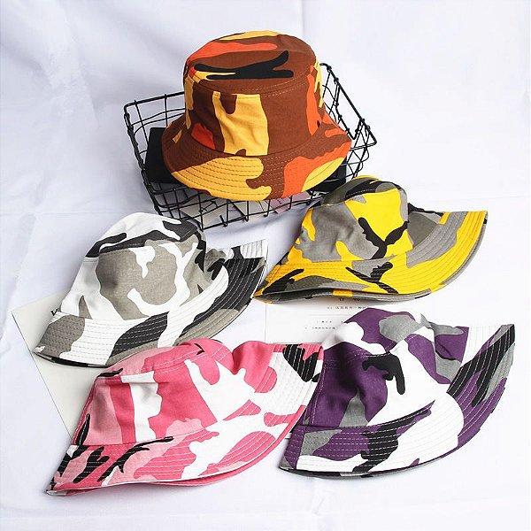 Bucket Hat Camuflado