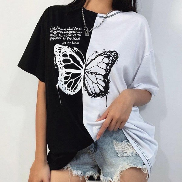 T-shirt Borboleta