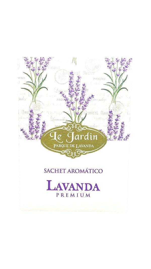 Sachê Aromático Lavanda Premium 10g