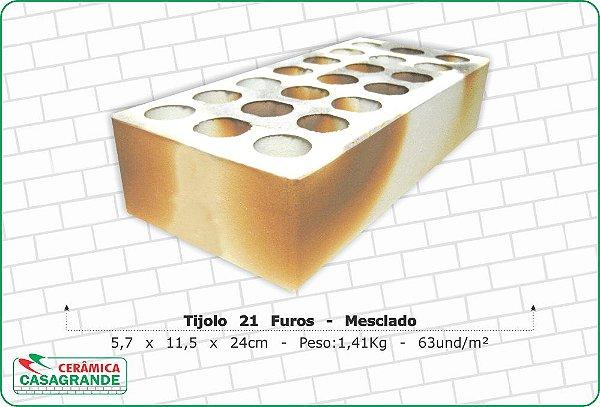 TIJOLO 21 FUROS