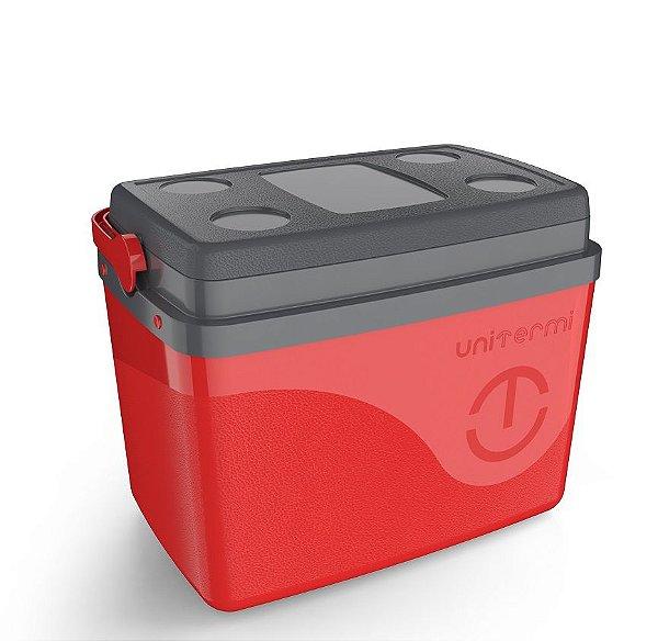 Caixa Térmica 30 Litros Floripa Vermelha