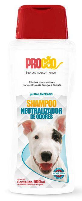 Shampoo Neutralizador de Odores PET 500ml - Procão