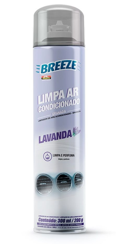 Limpa Ar Condicionado Breeze Lavanda 300ml