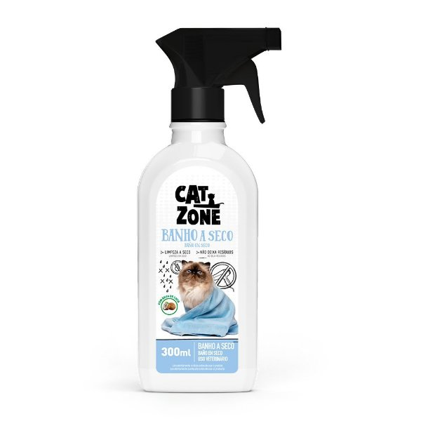 Banho a Seco S/ Água 300ml Cat Zone