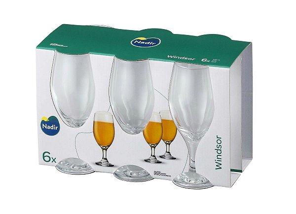 Jogo Taça Windsor Cerveja 330ml C/ 06 Unidades