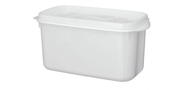 Caixa Organizadora DU CHEFF 3,7 Litros Branca com Tampa