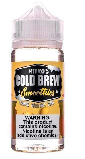 Juice Nitros Cold Brew - Mango Coconut Surf