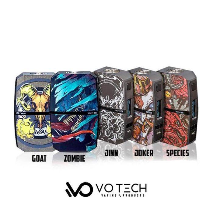 Votech Via 240 Dual Battery Box Mod - 240W