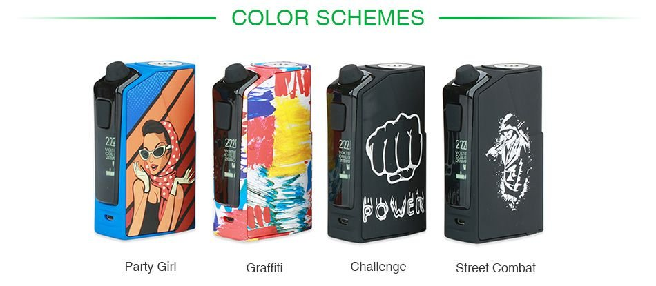 Oumier Flash VT-1 222W Box Mod