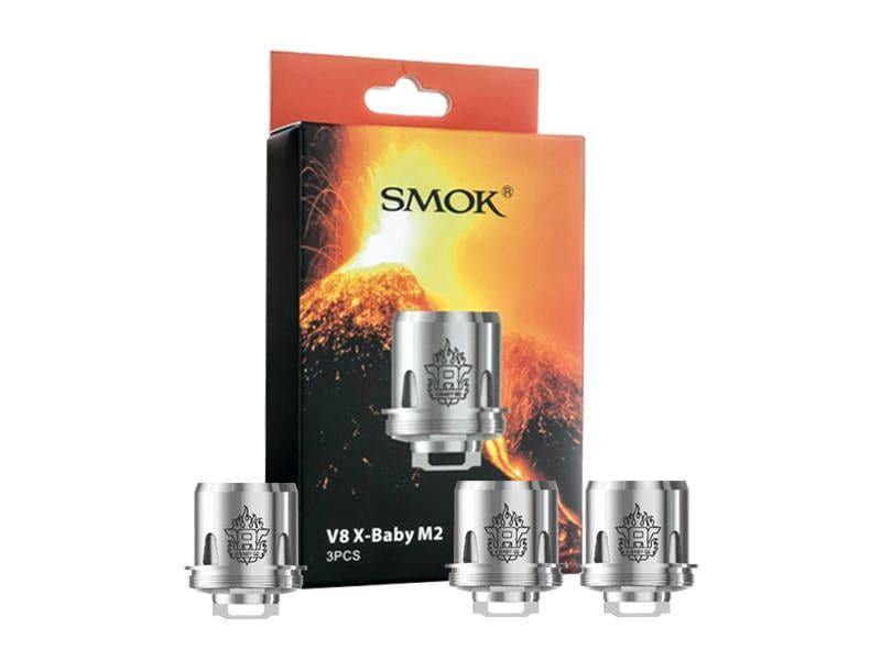 Coil Head Smok V8 X-Baby - M2  - 0.25Ohms - Cx com 3