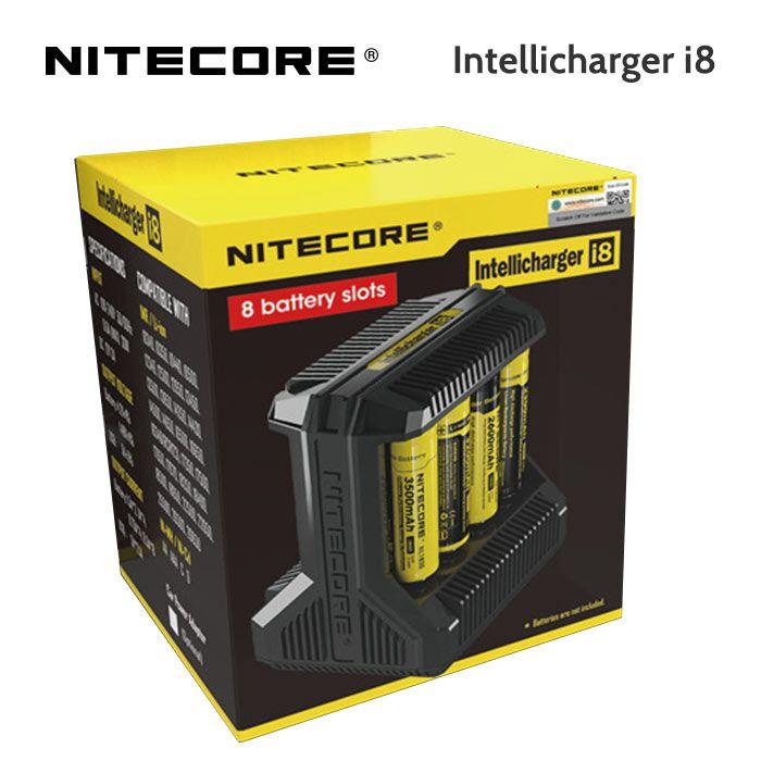 Nitecore i8 - Intellicharger