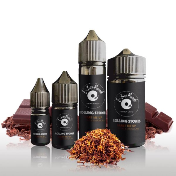 E-Juice Parade - Rolling Stones –Start me Up (Tobacco & Chocolate)