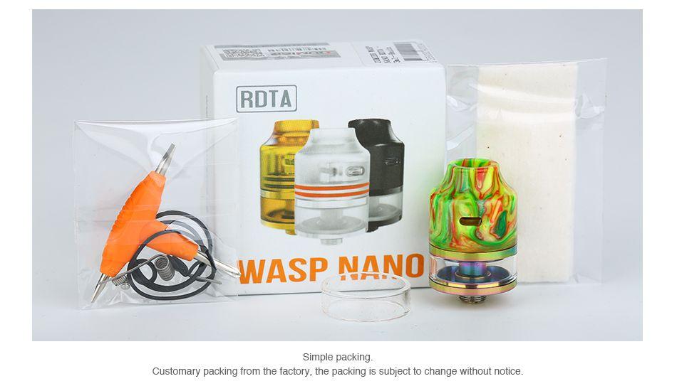 Oumier Wasp Nano 23mm RDTA