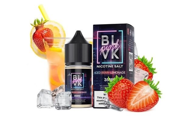 BLVK Iced Berry Lemonade Salt