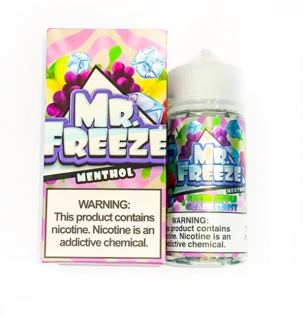 Juice Mr. Freeze Green Apple Grape Frost