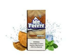 Juice Mr. Freeze Tobacco Menthol Salt
