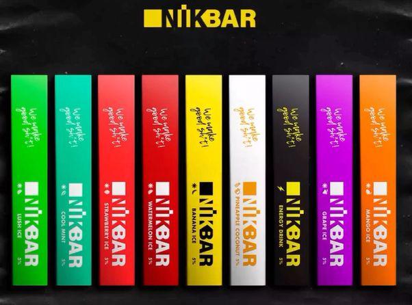 NikBar - Pod Stig Bar - 300 Puffs - Descartavel